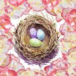 """Nesting Roses"" by IrinaSztukowski"