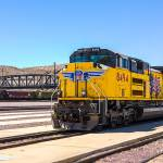 """Union Pacific near Route 66"" by dbwalton"