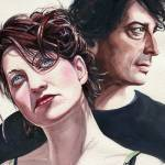"""Amanda Palmer and Neil Gaiman"" by KellyEddington"