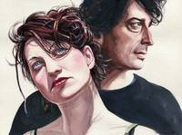 Amanda Palmer and Neil Gaiman