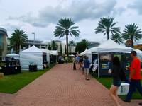 Downtown Art Show in Tropical Paradise Florida C1