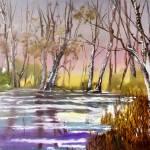 """Wintertime N Kentucky"" by BrendaSalyersArt"