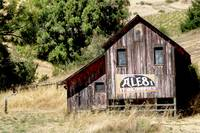 Barn with Ale 8 sign