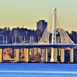 """BAy  Bridge E. Span  X"" by photobud606"