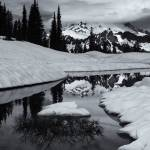 """Rainier Winter Reflections"" by Dawsonimages"