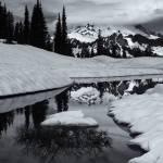 """Rainier Winter Reflections"" by Dawsonimages"