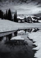 Rainier Winter Reflections