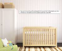 Isaiah 41:10. Scripture Stick Christian Wall Art-