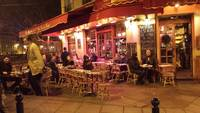 Cafe Night Life, Paris
