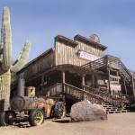 """""""Old Goldfield Ghost Town"""" by GordonBeck"""