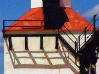 Michigan City Light (Detail)