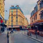 """Side streets in Paris"" by JohnRivera"