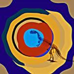 """Saurus Ceratosaurus and Bones"" by ecolosimo"