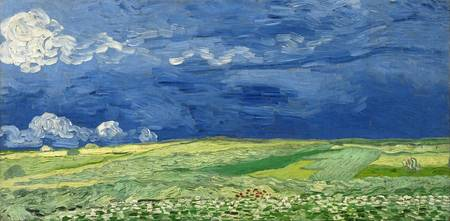 Vincent van Gogh's Wheatfield Under Thunderclouds