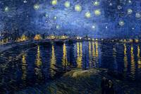 Vincent van Gogh's Starry Night Over the Rhone