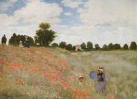 Claude Monet's Coquelicots, La Promnade (Poppies)