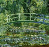 Claude Monet's Water Lilies and Japanese Bridge