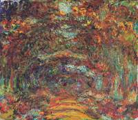 Claude Monet's The Rose Walk, Giverny, 1920-22