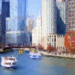 """Chicago River Impression"" by edbock"
