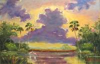 Florida Sunshine with Purple Clouds