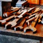 """Wrenches"" by susansartgallery"