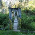 """Suspension Bridge Over a River"" by rhamm"