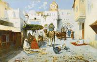 José Navarro y Llorens 1867-1923 SPANISH THE SOUK