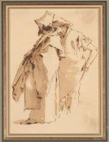 Giovanni Battista Tiepolo, 1696-1770, Two Oriental