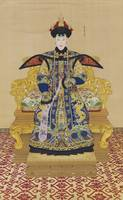 A LARGE IMPERIAL PORTRAIT OF CONSORT CHUNHUI BY GI