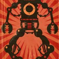 Giant Robot poster Art Prints & Posters by Matthew Laznicka