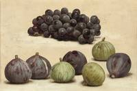 John William Godward -Still life of grapes and fig