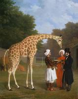 The Nubian Giraffe, by Jacques-Laurent Agasse (c.1