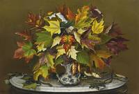 Sarah J. Prentiss 1823-1877 AUTUMN LEAVES