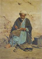 Pavlos Prosalentis 1857-1894 GREEK THE COBBLER
