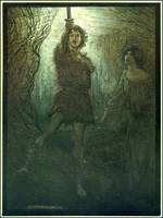 Arthur Rackham  - WAGNER'S RING CYCLE- The Valkyri