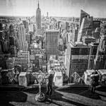 """Top of the Rock View at Rockefeller Center"" by lillisphotography"