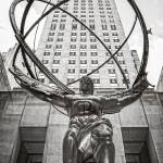 """Atlas Statue at Rockefeller Center New York City"" by lillisphotography"