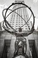 Atlas Statue at Rockefeller Center New York City