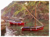 Boats of the Cinque Terre