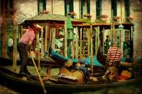 Gondoliers of Venice