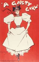 Vintage poster - A Gaiety Girl