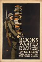 Vintage poster - Books Wanted