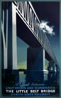 Vintage poster - Little Belt Bridge