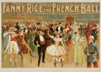 Vintage poster - Fanny Rice at the French