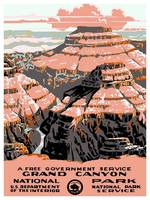 Vintage poster - Grand Canyon
