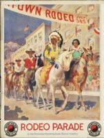 Vintage poster - Rodeo parade
