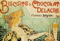 Vintage poster - Biscuits and Chocolat Delacre