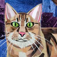 Cat with Attitude Art Prints & Posters by Megan Coyle