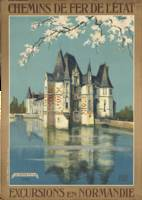 Vintage poster - Normandy