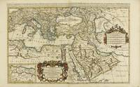 MAP OF THE MIDDLE EAST AND PERSIA. 17TH-19TH CENTU